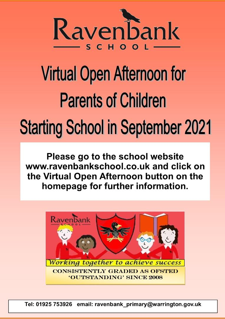 Open afternoon poster 2020